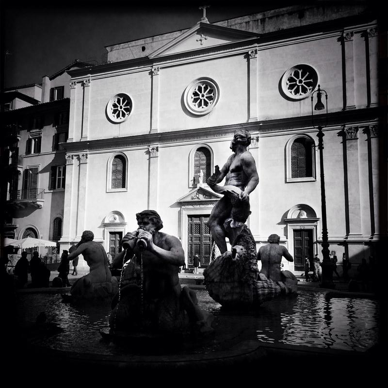 черно-былые фотографии Рима (16)