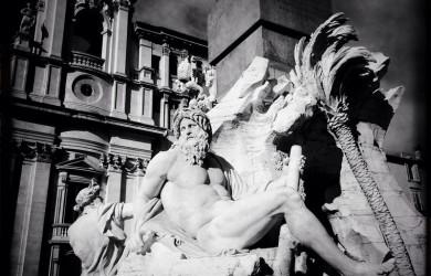 черно-былые фотографии Рима (2)
