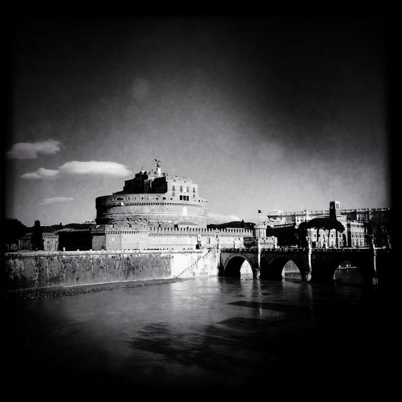 черно-былые фотографии Рима (6)