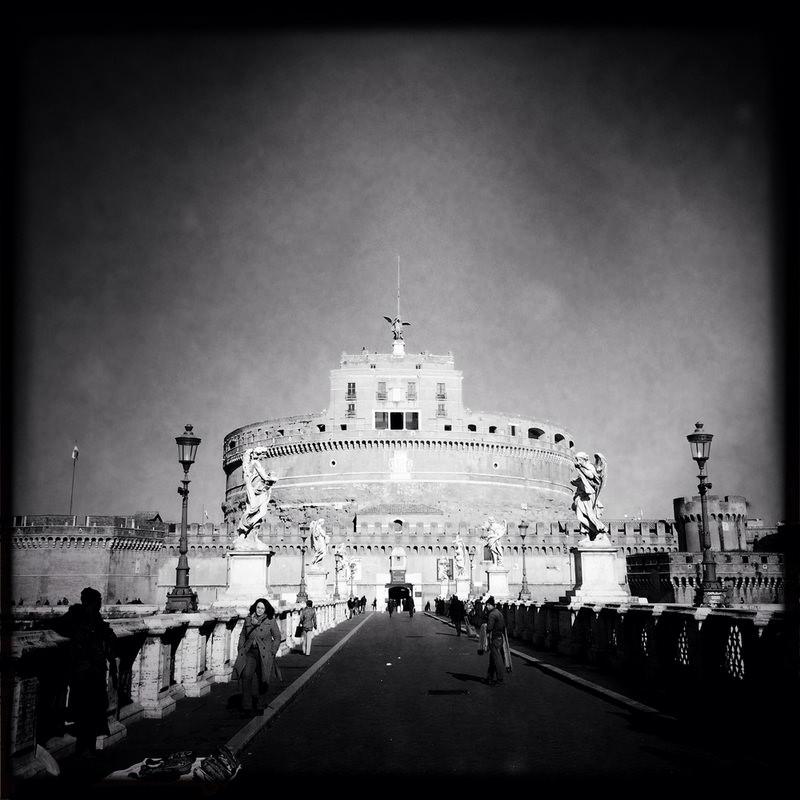черно-былые фотографии Рима (7)