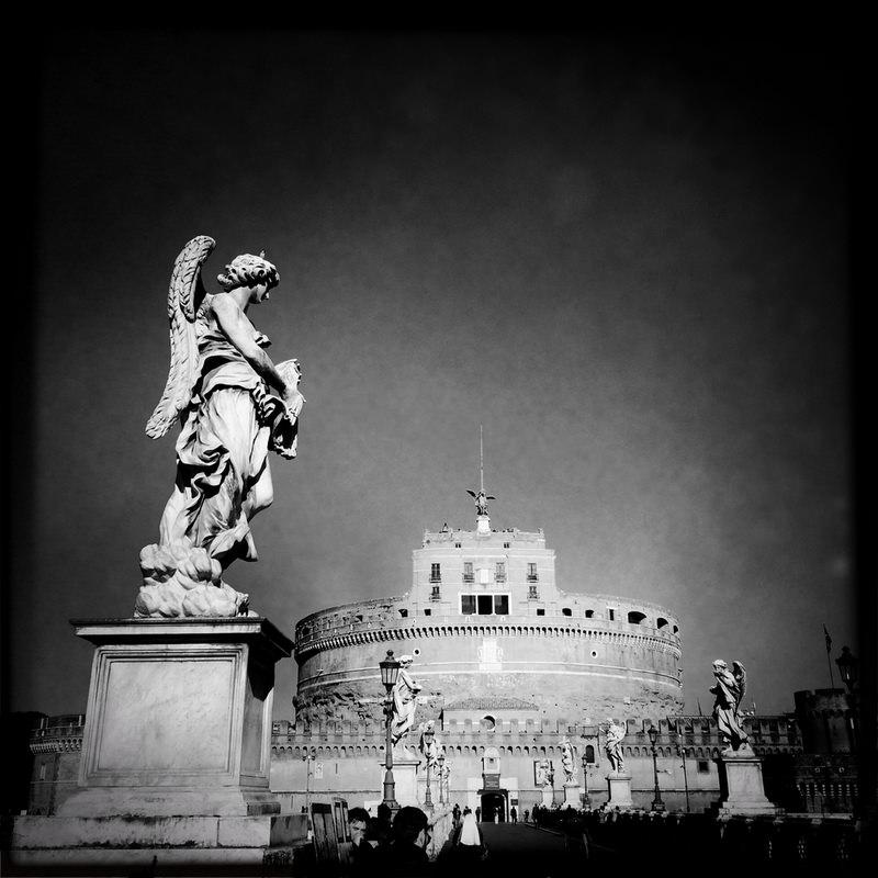 черно-былые фотографии Рима (8)