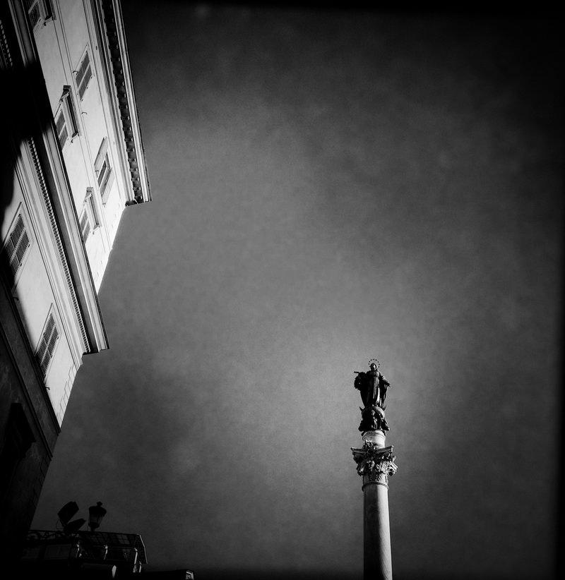 черно-былые фотографии Рима (9)