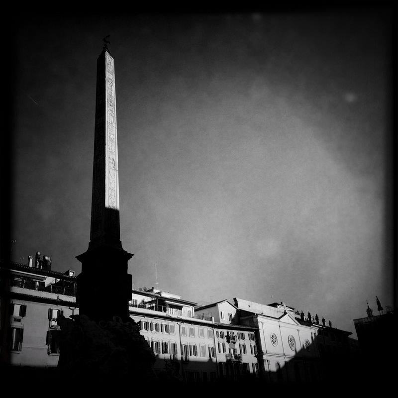 черно-былые фотографии Рима (10)