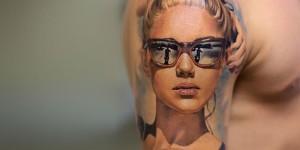 3D татуировки - фото