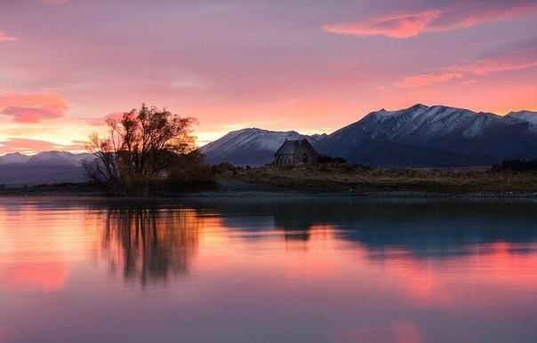 Фото природы Новой Зеландии