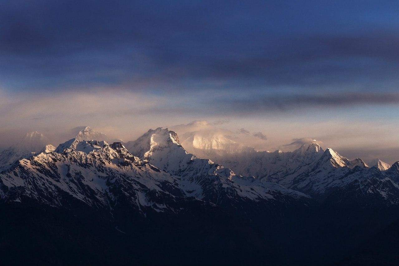 Самые высокие горы мира в Непале