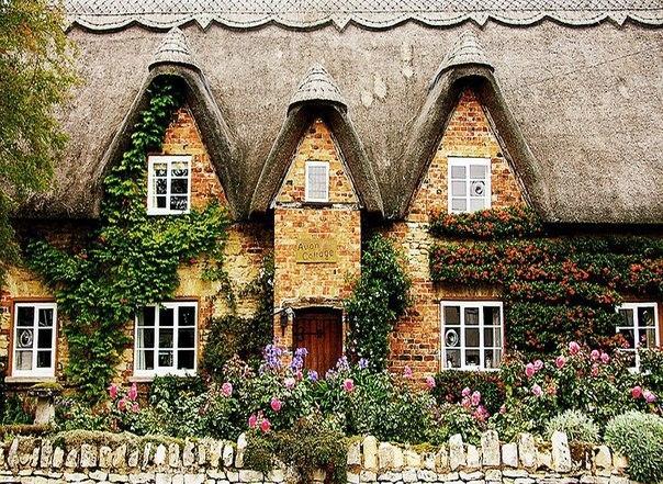 старый английский городок